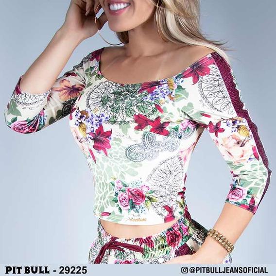 Cropped Estampado Pitbull Ref 29225