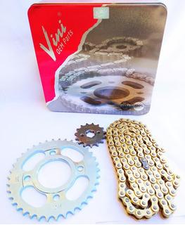 Kit Transmision Premium Zanella Rx 150/varias Vini Oem Parts