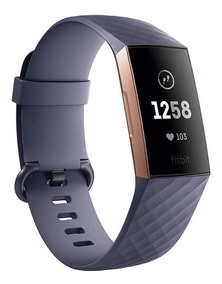 Fitbit Charge 3 Rose Gold - Pulseiras P / G Incluída