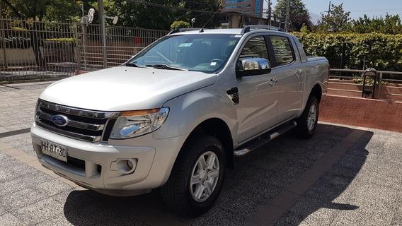 Ford Ranger Limited Full Equipo 2016 Segundo Dueño