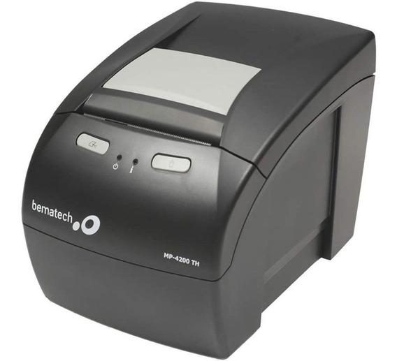 Impressora Bematech Mp-4200 Th Usb E Ethernet - Rede