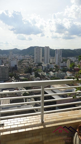 Sala Comercial Vila Mathias - Santos - 4963