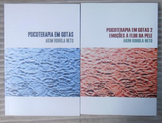 Kit 2 Livros Psicologia Em Gotas - Akim Rohula
