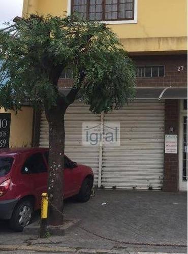Salão Para Alugar, 160 M² Por R$ 5.000,00/mês - Centro - Diadema/sp - Sl0097