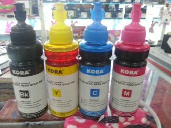 Kit Refil Tinta Epson 100 Ml