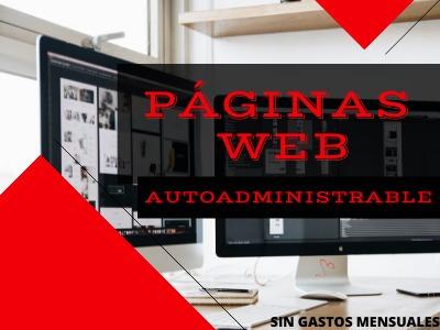 Tu Página Web Autoadminitrables Desde $2000