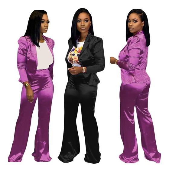 Las Mujeres De La Moda De Otoño De Dos Piezas Conjunto Traj