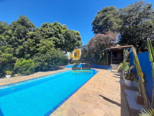 Linda Chácara Com 2 Quartos À Venda, 490 M² Por R$ 450.000 - Chácara Parque São Pedro - Atibaia/sp - Ch0558
