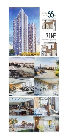 Apartamento 2 E 3 Dormitórios Perto Do Metrô Na Zona Sul