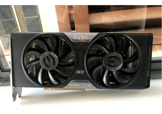 Placa De Video Nvidia Gtx 760 2gb Evga