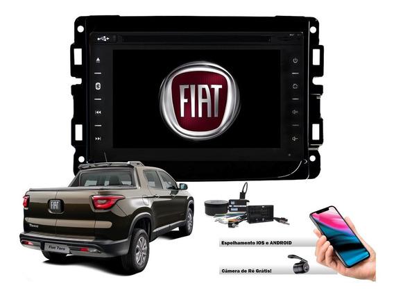 Central Multimidia Dvd Fiat Toro Tv E Gps