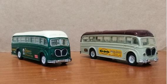 Miniatura De Ônibus Sunnyside - Lote Com 2