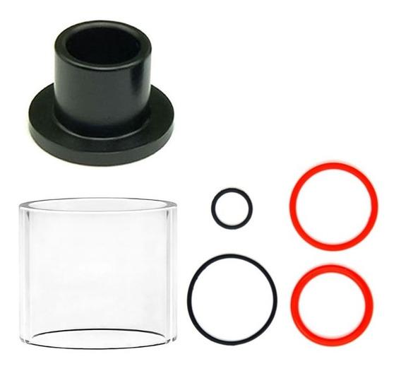 Vidro Para Vape Pen Plus Com Anéis De Vedação E Topcap