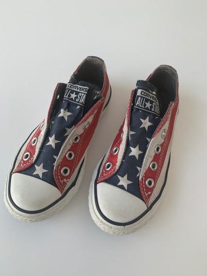 Zapatos Converse Para Niño Talla 11 Usados