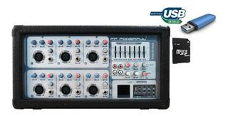 Consola Potenciada C/usb Pam-6010eq