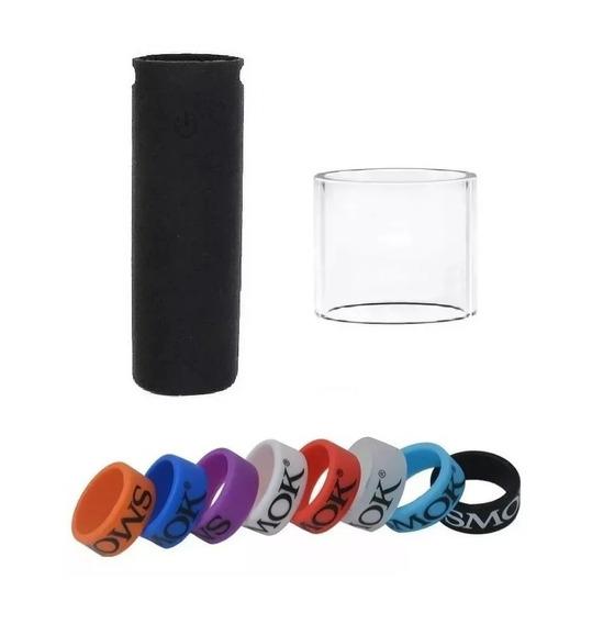 Kit Pen 22 - Vidro + Capa + Vapeband