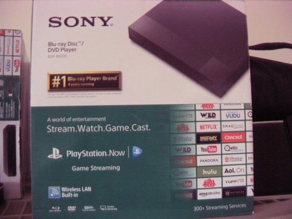 Sony Blue Ray/dvd Tv Box Streaming Netflix Multimedia