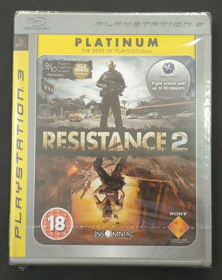 Resistance 2 Playstation 3 Lacrado. Sony Ps3