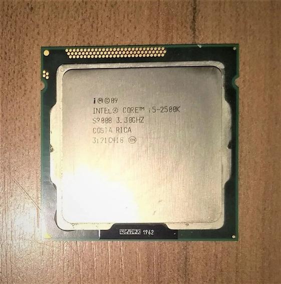 Processador Intel Core I5 2500k Lga 1155 Funcionando Perfeit