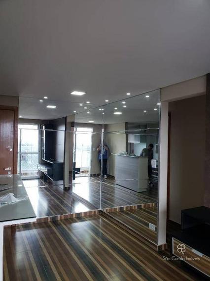 Apartamento Com 3 Dormitórios Para Alugar, 62 M² Por R$ 1.680/mês - Residencial Da Granja - Granja Viana - Carapicuíba/sp - Ap0159