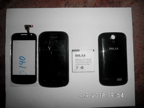 Mica Tactil/ Placa Blu Das Jr D140