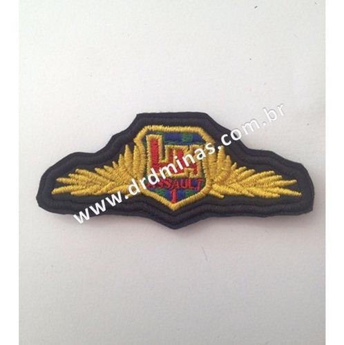 Patch / Distintivo Bordado Assault - I