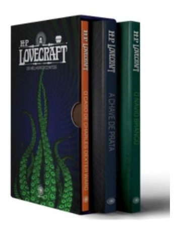 Box Hp Lovecraft - Os Melhores Contos - 3 Volumes - Parte 2