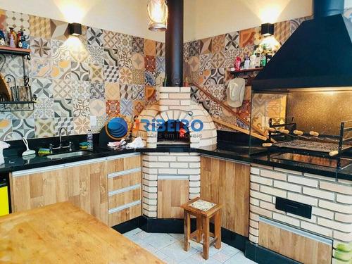Imagem 1 de 15 de Casa Sobrado 3 Suítes 5 Vagas De Garagem Espaço Gourmet Para Venda Em Imirim São Paulo-sp - 901263