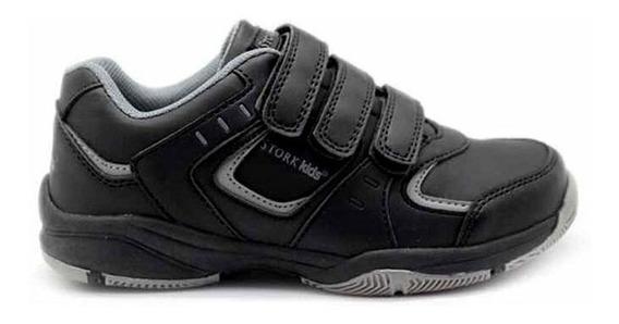 Velcro Zapatilla Colegial