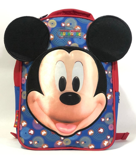 Mochila Infantil Mickey Mouse