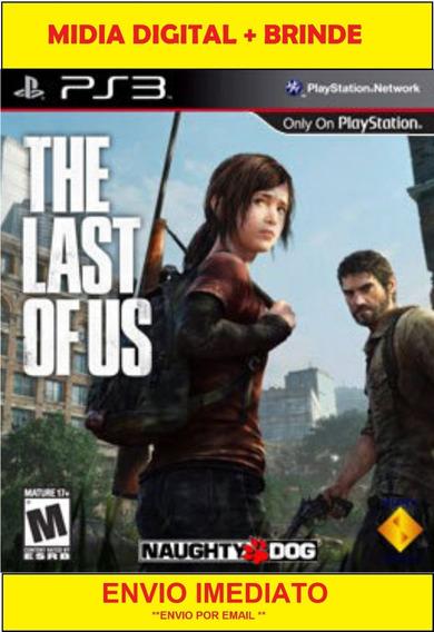 The Last Of Us Ps3 Midia Digital Português Completo + Brinde