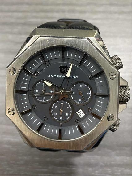 Reloj Andrew Marc 45 Mm Negro