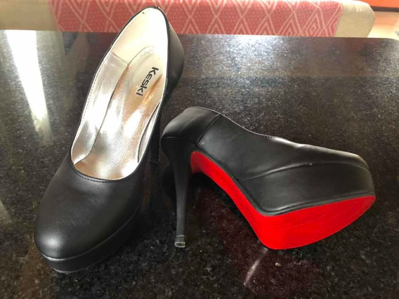 Zapatos Plataforma Fiesta Negros