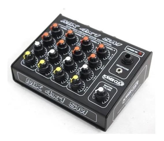 Power Click Modelo Mx 4x1 Sm Monitor Individual 4 Canais