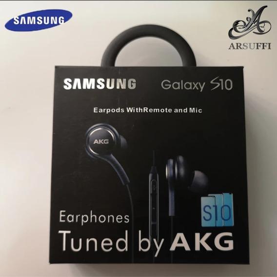 Fone De Ouvido Akg Samsung S10 Plug P2 Universal Original