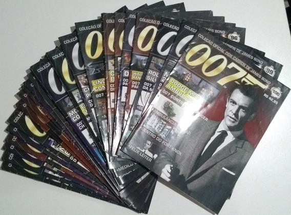 Fascículo Coleção Oficial Dos Carros James Bond 007 - Vários