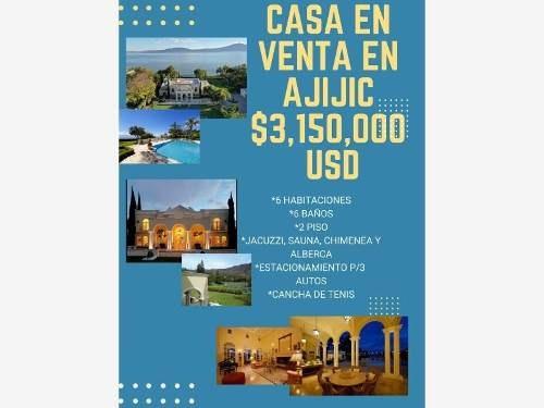 Casa En Venta En Ajijic Centro