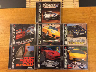 Need For Speed 1 2 3 High Stakes Porsche V-rally Ps1 Ps2 Ps3