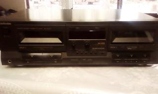 Deck De Doble Cassette Technics Rs-t9023 Con Detalles