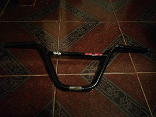 Manubrio De Bmx Eclat Negro 9m (bones Deth)