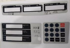 Capa Do Teclado Balança Urano Pop Z 20kg - Kit C/ 3 Peças