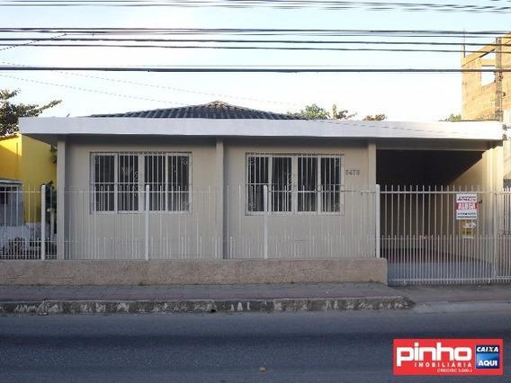 Casa 02 Dormitórios, Locação, Bairro Centro Histórico, São José, Sc - Ca00059