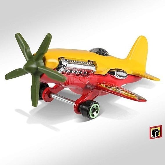 Hot Wheels Aviao Mad Propz Hot Wheels Frr91 Miniatura