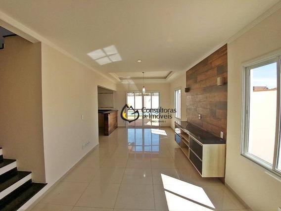 Casa Com 3 Dormitórios À Venda, 191 M² Por R$ 680.000 - Condomínio Terras Do Fontanário - Paulínia/sp - Ca0722