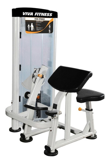 Gym Peso Integrado 2 En 1 Curl Biceps Y Extensión Tríceps