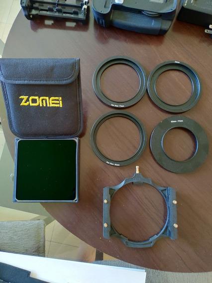 Filtro Nd 1000 Retangular 3.0 Zomei + Adaptadores