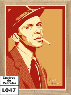 Frank Sinatra , Cuadro, Poster, Música L047