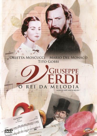 Dvd - Giuseppe Verdi O Rei Da Melodia - Novo***