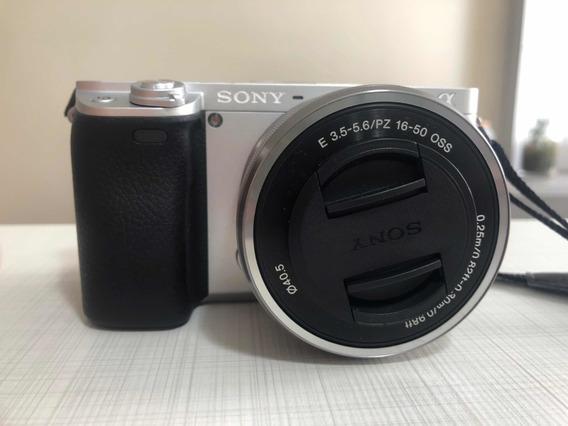 Câmera Sony Alpha 6300 Com Duas Lentes E Acessórios