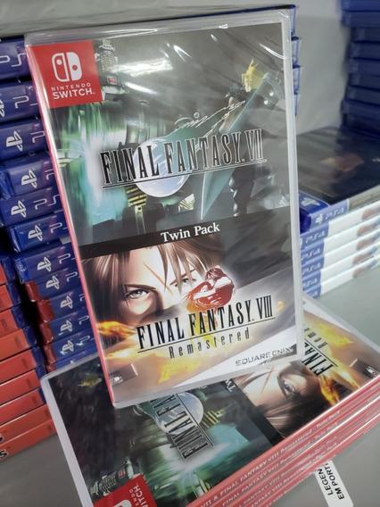 Final Fantasy Vii (7) Viii (8) Remaster Switch Mídia Física